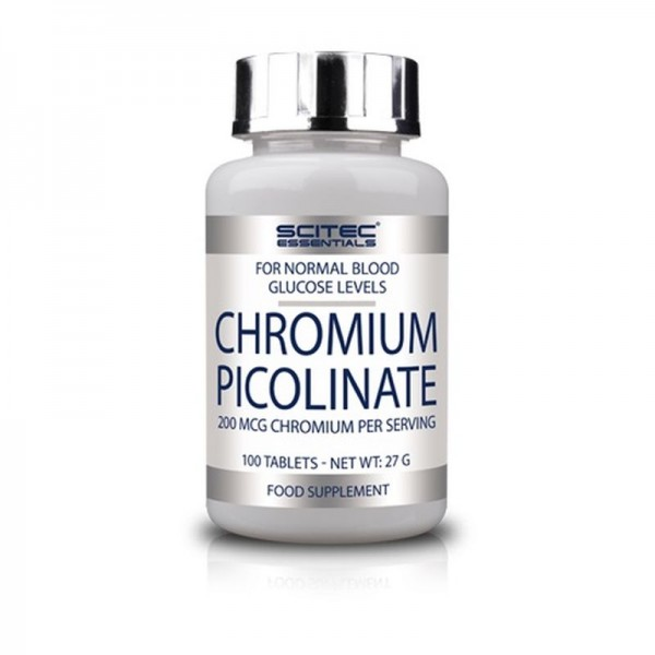 Scitec Chromium Picolinate 100 Tabletten
