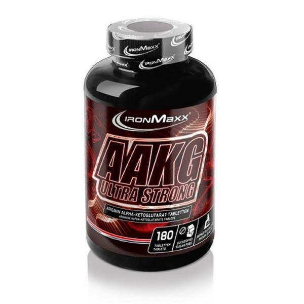 IronMaxx AAKG Ultra Strong - 180 Tabletten