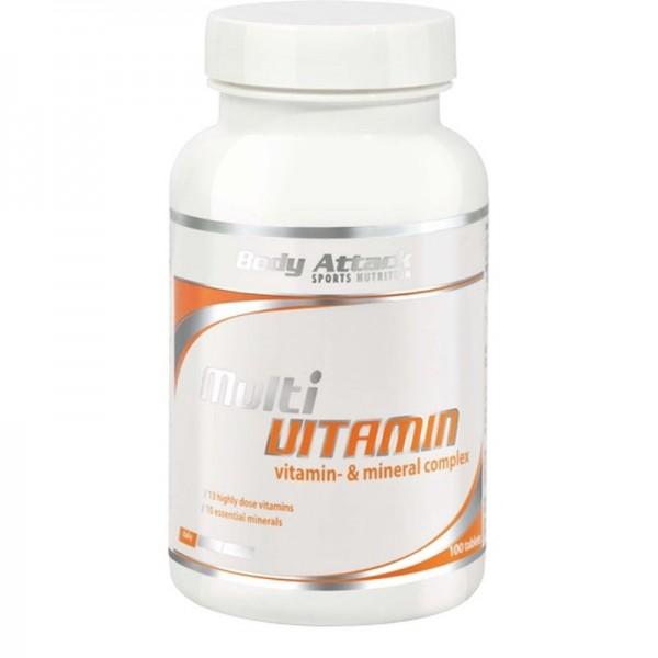 Body Attack Multi Vitamin 100 Tabletten