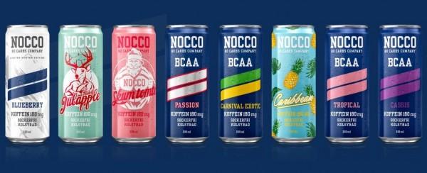 Nocco BCAA Drink blau (24 x 330 ml)