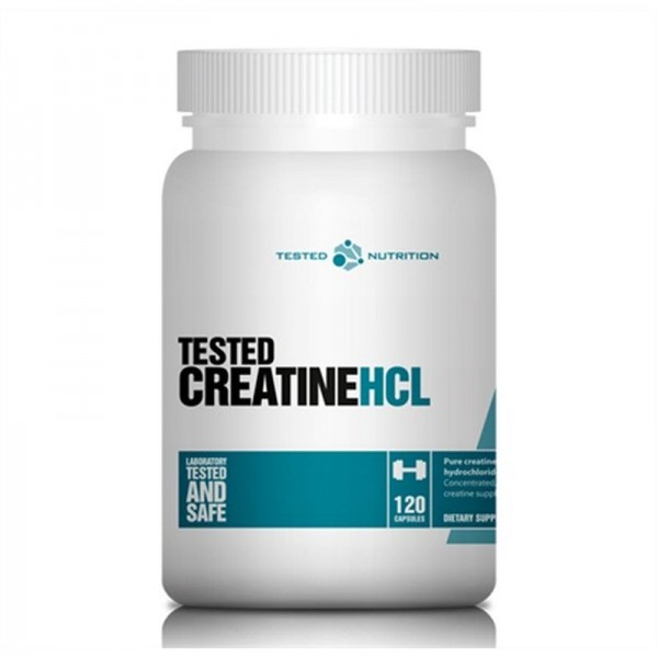 Tested Creatine HCL 120 Kapsel