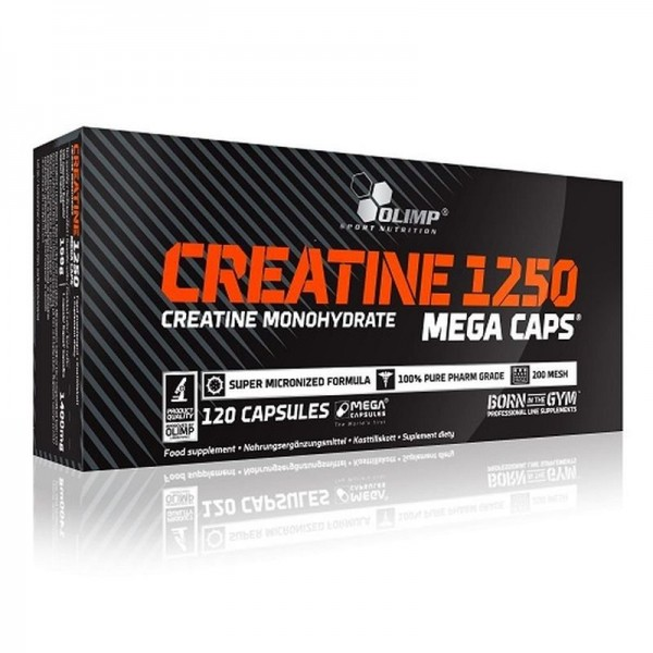 Olimp Creatine Mega Caps - 120 Kapseln