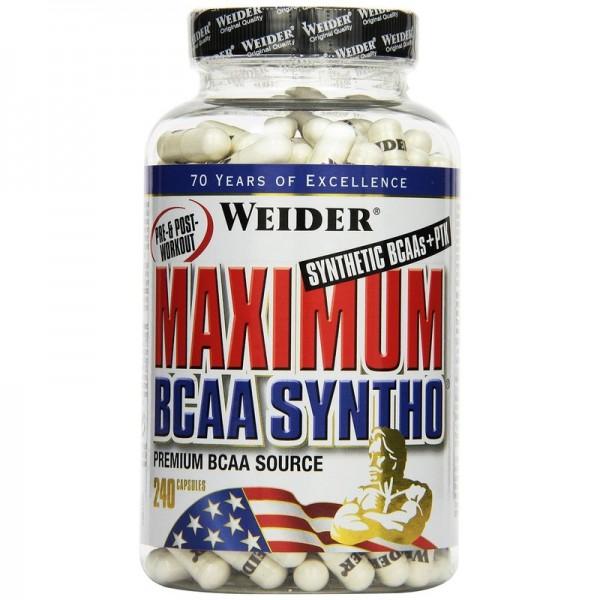 Weider Maximum BCAA Syntho + PTK 240 Kapsel