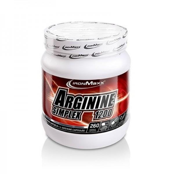 IronMaxx Arginin Simplex - 300 Kapseln
