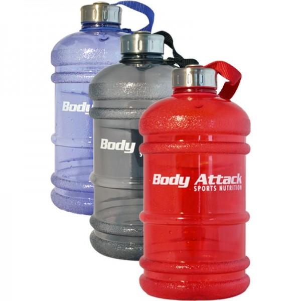 Body Attack Water Bottle - Wasserflasche XXL - 2,2 Liter