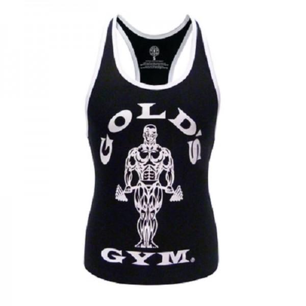 Gold´s Gym GGLVST021 - Ladies Loose Fit Tank - black