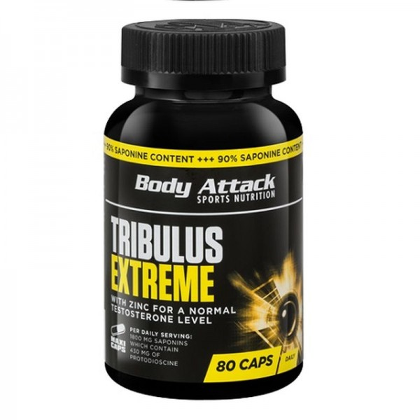 Body Attack Tribulus Extreme - 80 Caps