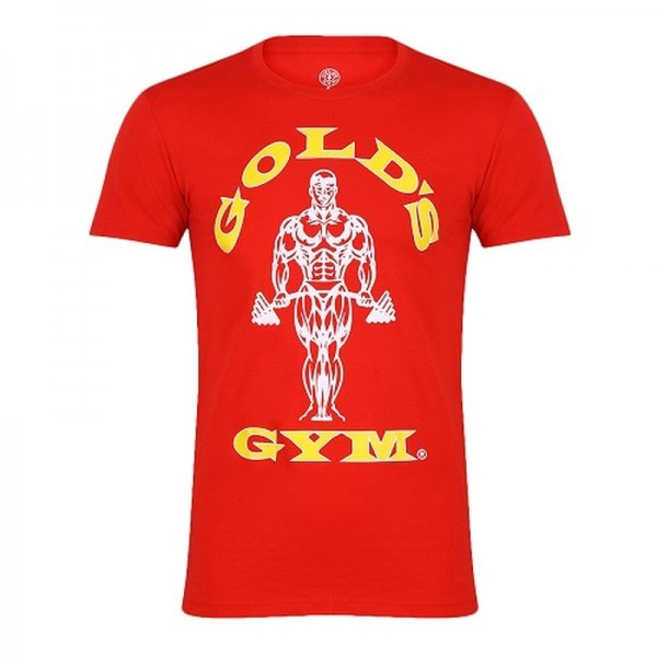 Gold´s Gym GGTS002 Muscle Joe T-Shirt - rot