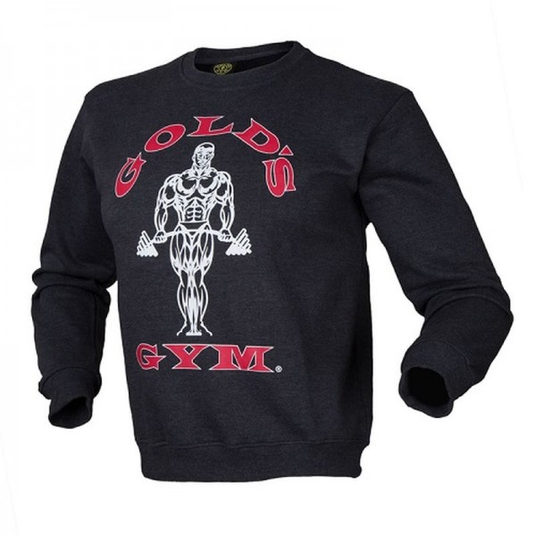 Gold´s Gym Crewneck Sweater - charcoal/dunkelgrau