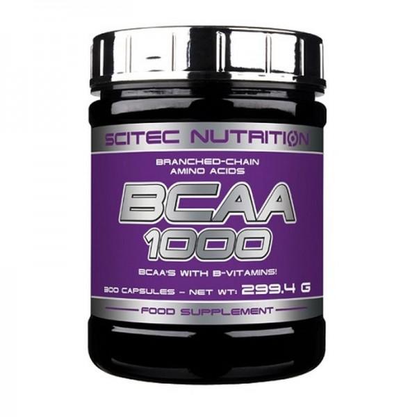 Scitec BCAA 1000 - 300 Kapseln
