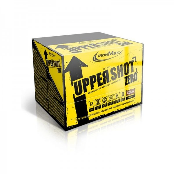 IronMaxx Upper Shot Zero - 12x60ml
