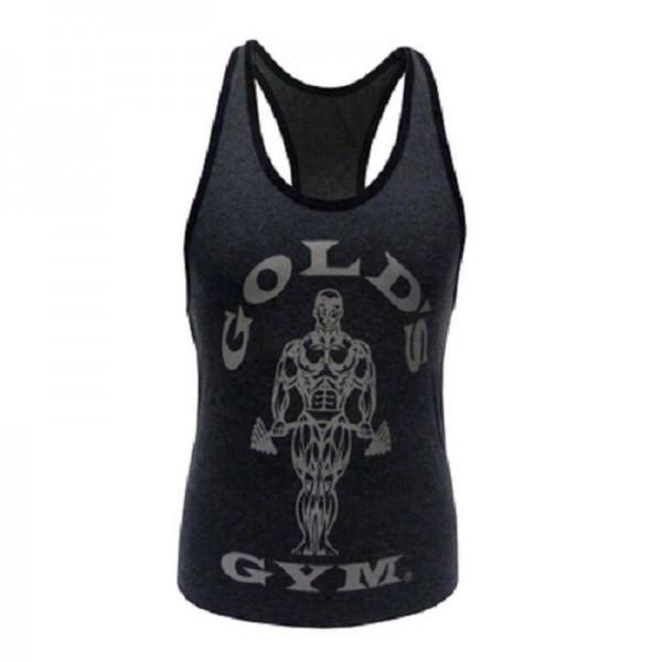 Gold´s Gym GGLVST021 - Ladies Loose Fit Tank - charcoal