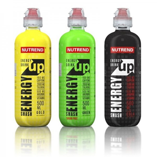 Nutrend Smash Energy UP - 8x 500ml