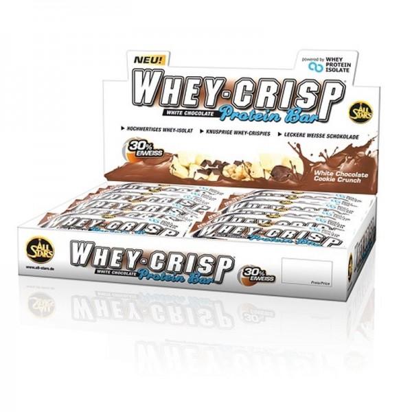 All Stars Whey-Crisp Bar 24x 50g Display