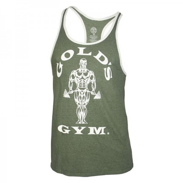 Gold`s Gym GCONST17 Stringer Tank - Army