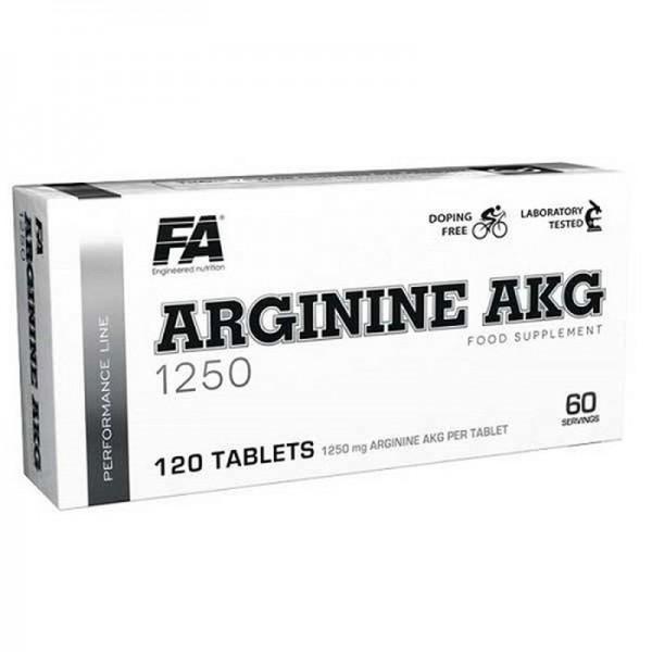FA Nutrition Performance Arginine AAKG - 120 Tabs