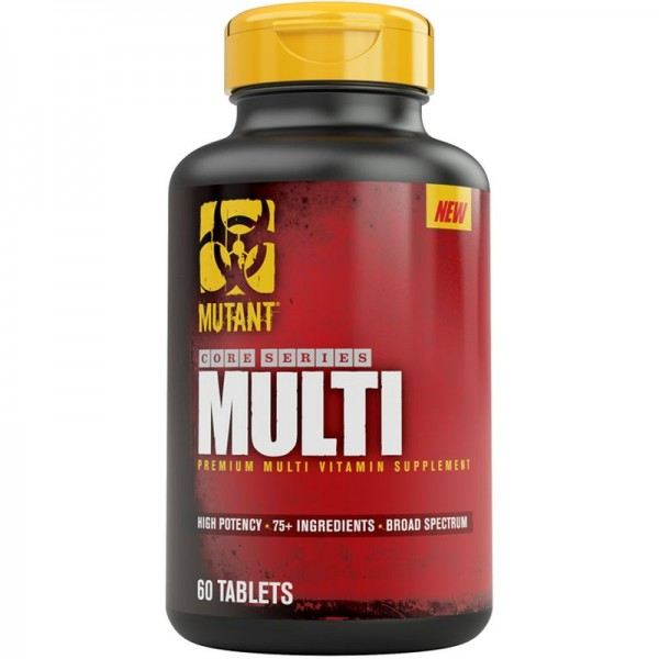 Mutant Core Multi (Vitamin) 60 Kapsel