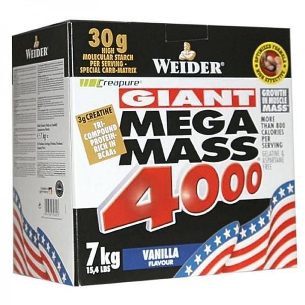 Weider Mega Mass 4000 - 7 kg