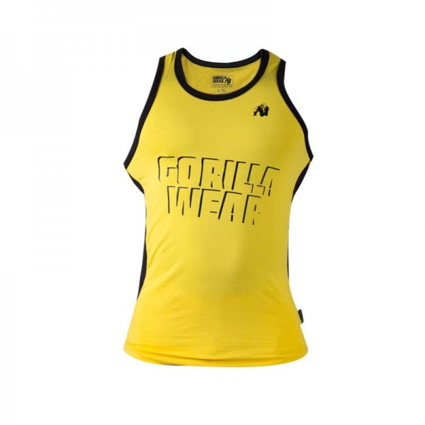 Gorilla Wear Stretch Tank Top - yellow