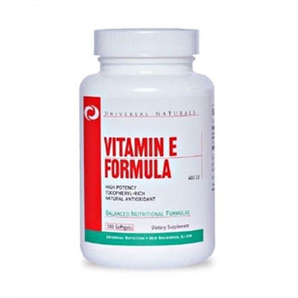 Universal Vitamin E Formula 100 Softgel Kapseln