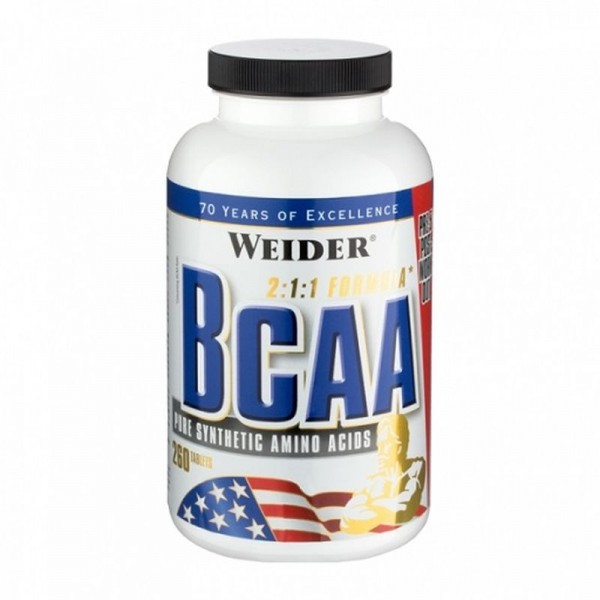 Weider BCAA Tablets 260 Caps