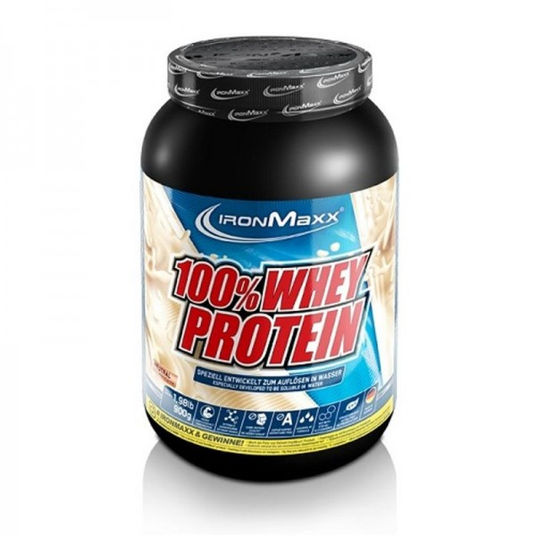 IronMaxx 100% Whey Protein - 900g
