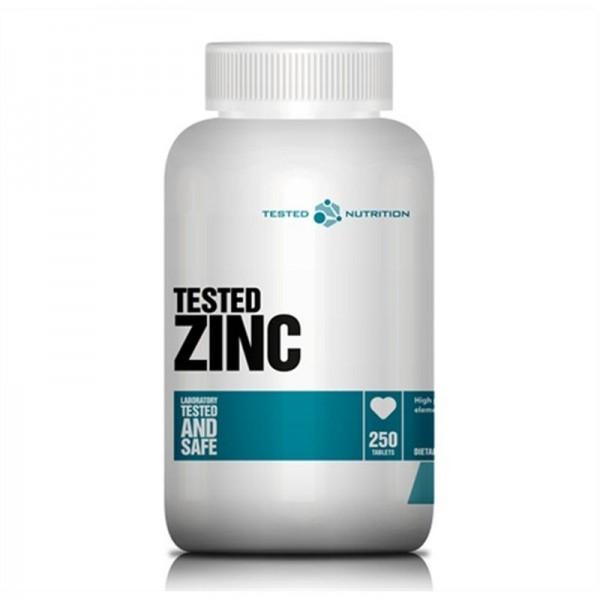 Tested Zinc 30mg - 250 Tabletten